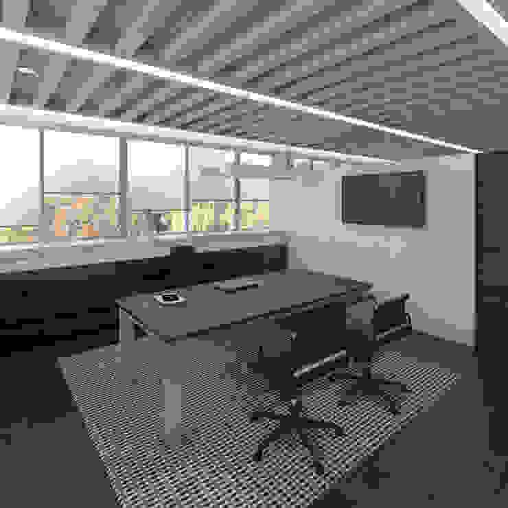 Moderne kantoorgebouwen van Boué Arquitectos Modern