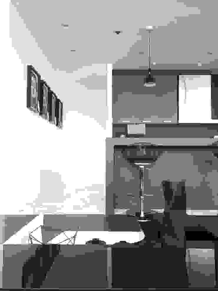 THE ST. REGIS Cocinas modernas de Barra de Arquitectura Mexicana Moderno