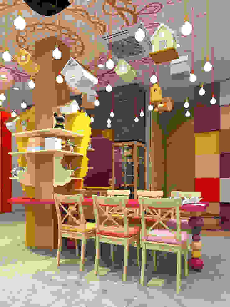 Детское кафе от Tutto design Эклектичный