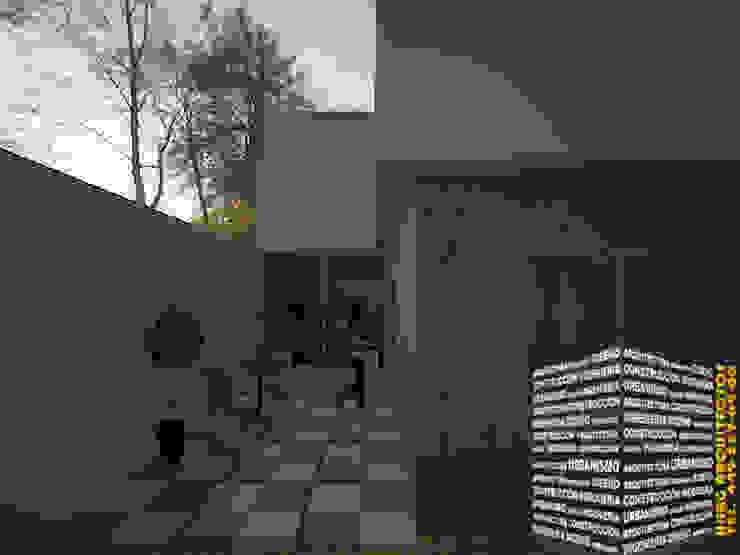 PATIO Casas minimalistas de HHRG ARQUITECTOS Minimalista