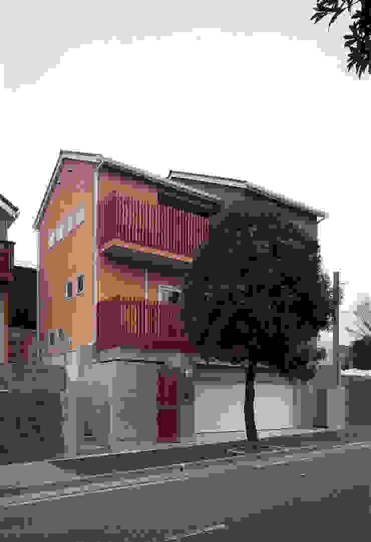 外観01 日本家屋・アジアの家 の エーディフォー 一級建築士事務所 和風
