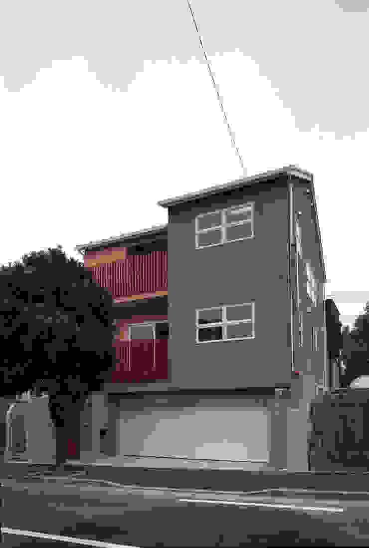 外観02 日本家屋・アジアの家 の エーディフォー 一級建築士事務所 和風
