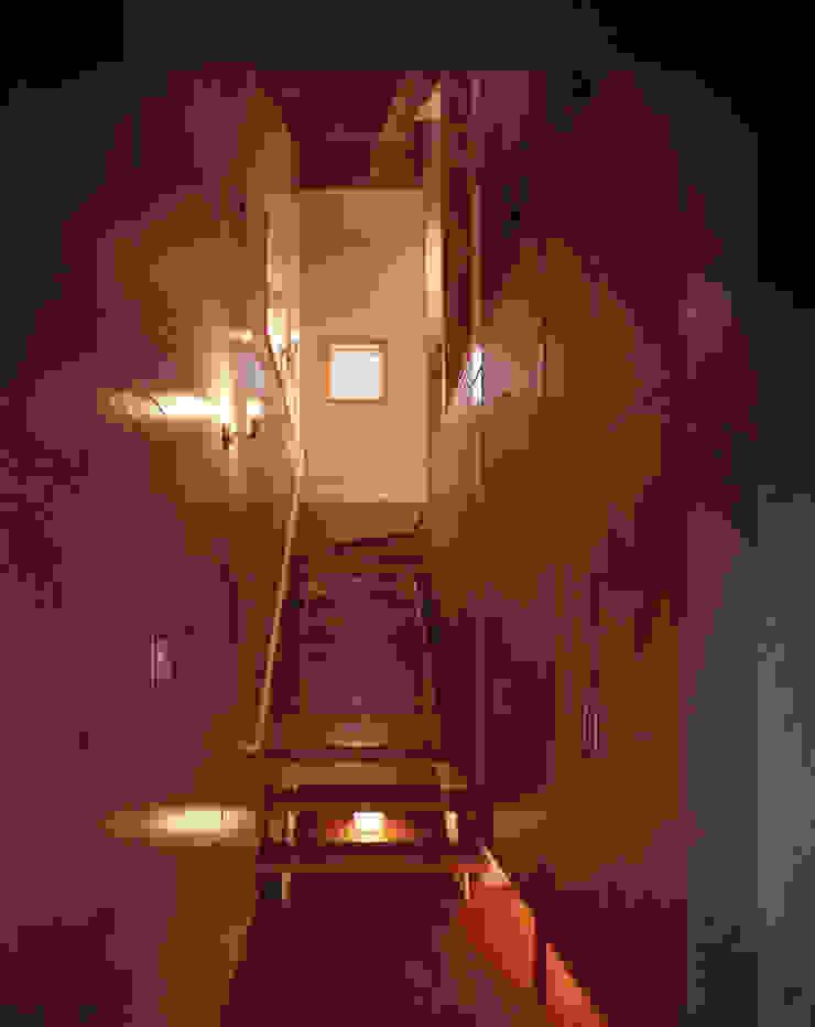 玄関 和風の 玄関&廊下&階段 の エーディフォー 一級建築士事務所 和風