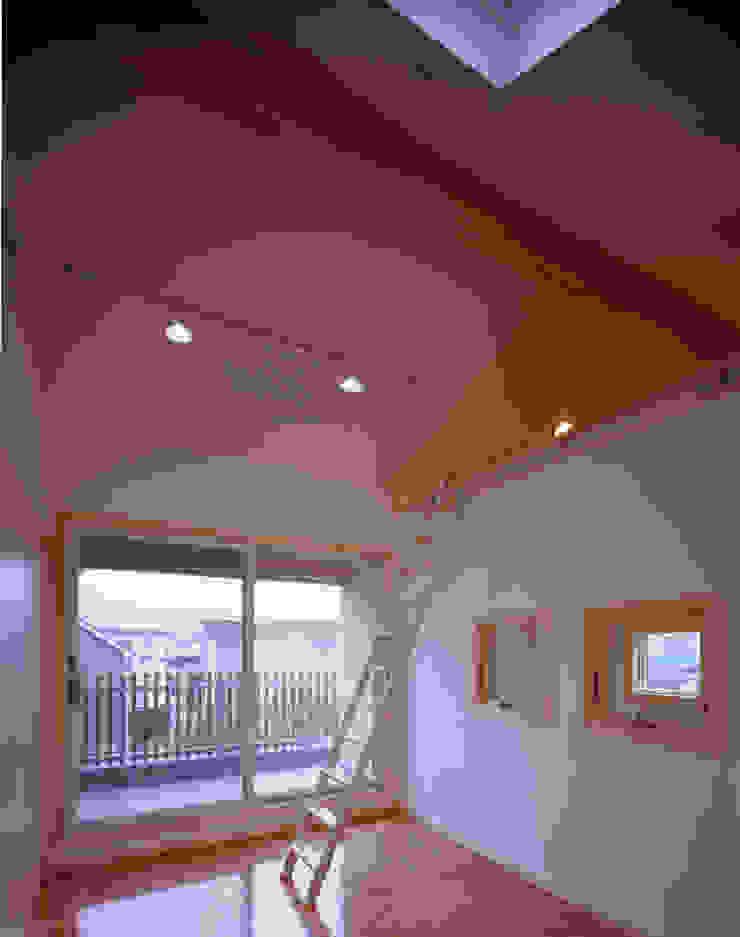子供室+ロフト 和風デザインの 子供部屋 の エーディフォー 一級建築士事務所 和風