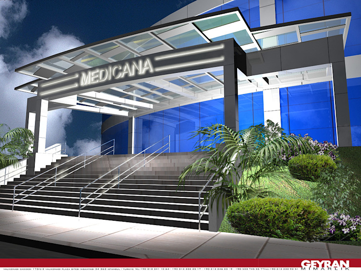 Medicana Beylikdüzü Modern Hastaneler Geyran Mimarlık Atölyesi LTD. ŞTİ. Modern