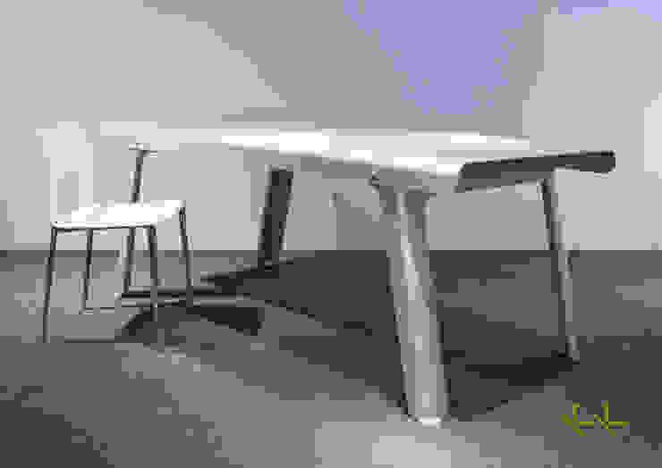 modern  by KK product design & interior, Modern Aluminium/Zinc