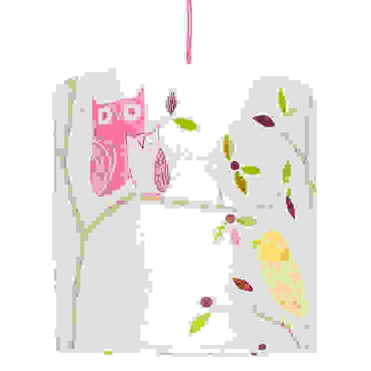 Lampa sufitowa Ptaszki od youngDECO Nowoczesny Bawełna Czerwony