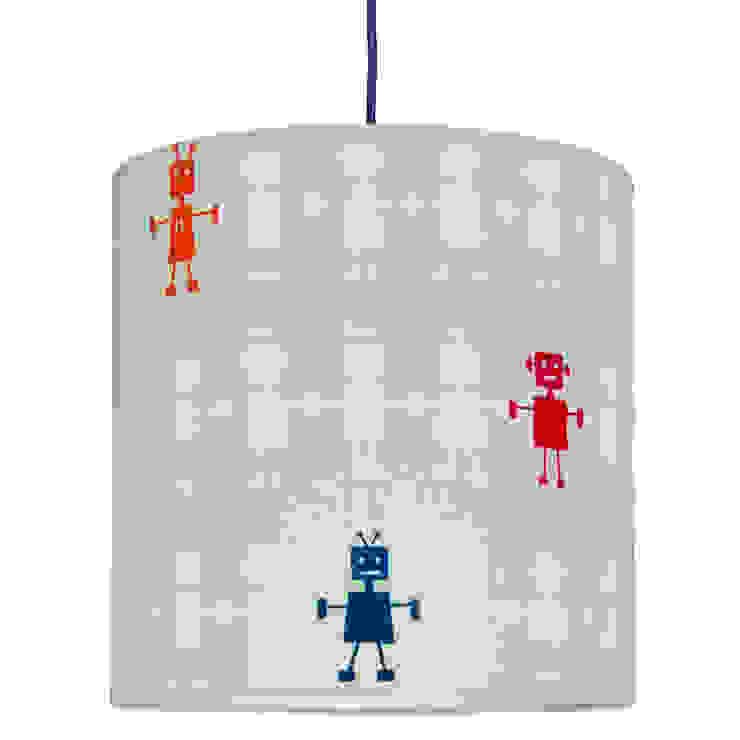 Lampa sufitowa Roboty od youngDECO Nowoczesny Bawełna Czerwony