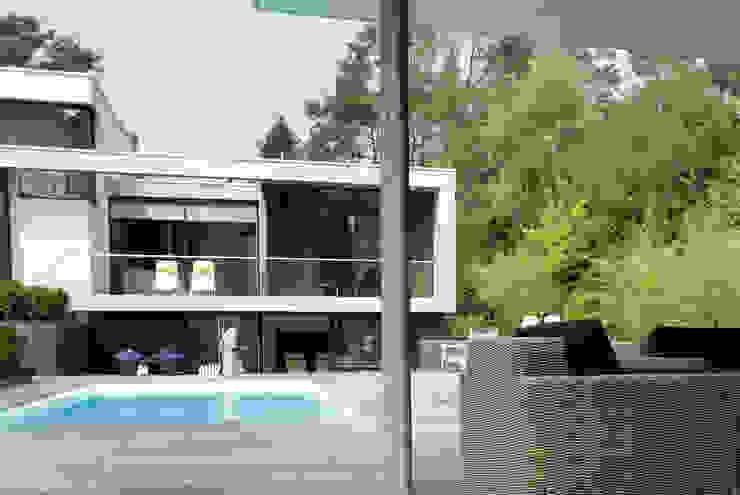 Woonhuis Bosch en Duin Moderne zwembaden van Maas Architecten Modern