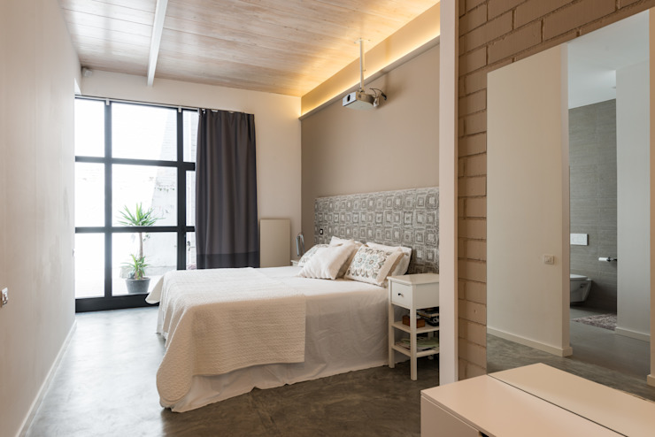 Dormitorio | Reforma Loft Barcelona | Standal Dormitorios de estilo moderno de homify Moderno