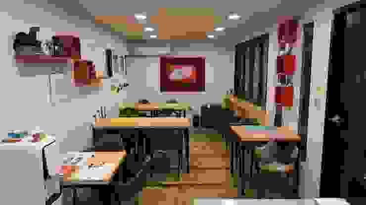 غرفة السفرة تنفيذ 쭈욱 게스트하우스, ريفي