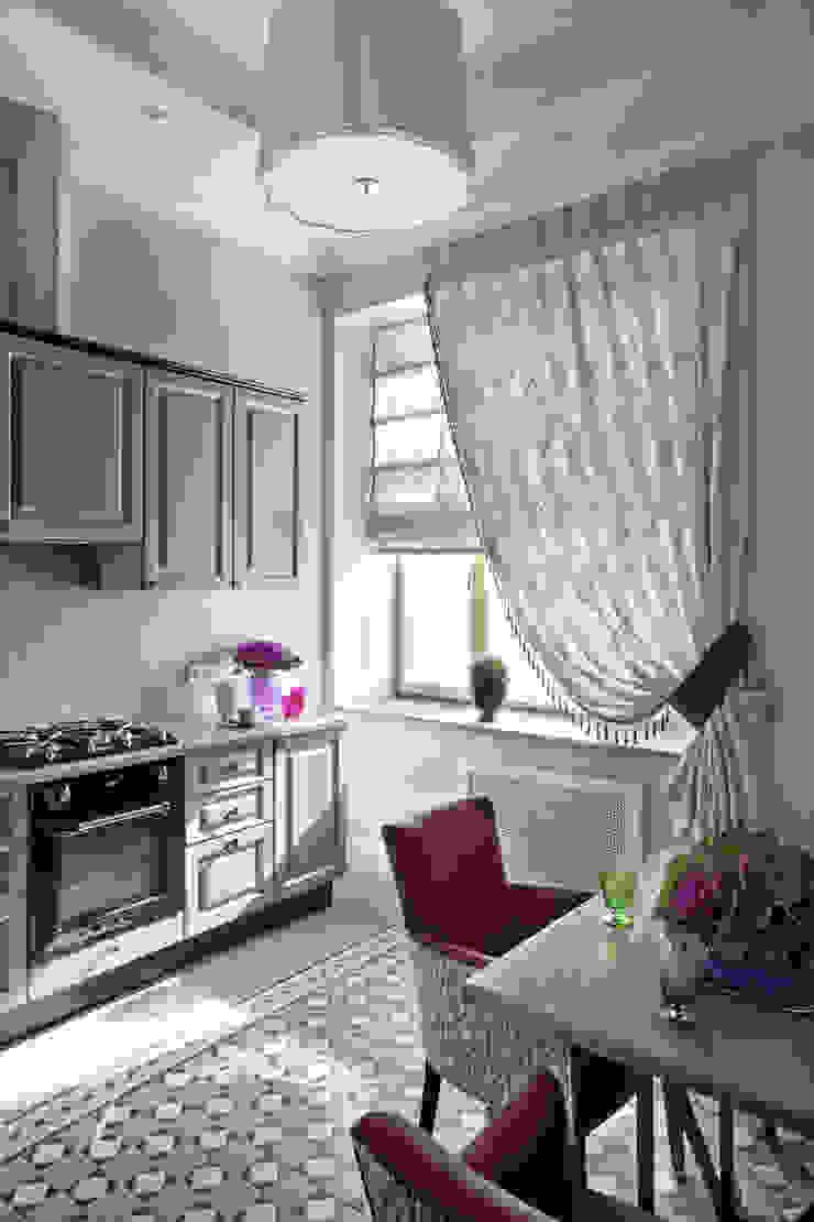 Летнее настроение Кухни в эклектичном стиле от VVDesign Эклектичный