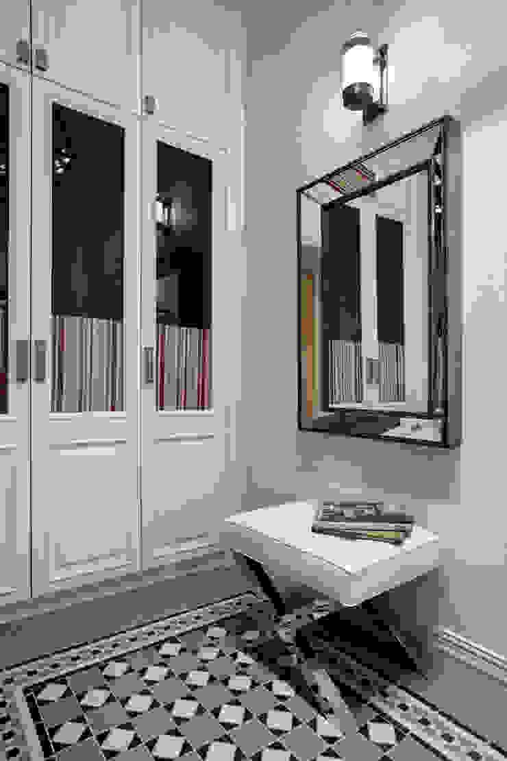 Летнее настроение Коридор, прихожая и лестница в эклектичном стиле от VVDesign Эклектичный