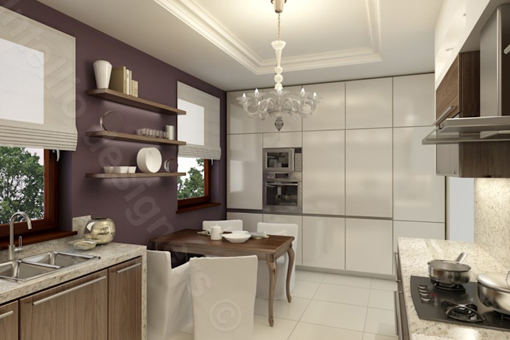 Kuchnia od Intellio designers