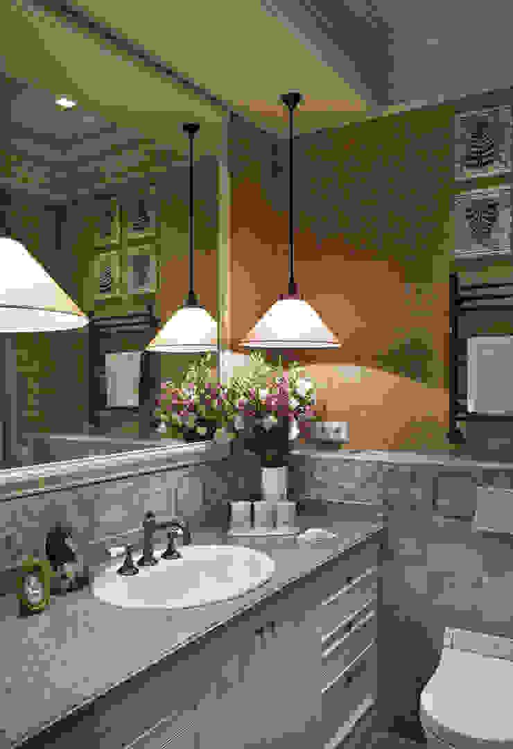 Летнее настроение Ванная комната в эклектичном стиле от VVDesign Эклектичный