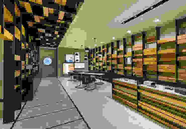 OMR_MTS2_1 Lojas e Espaços comerciais modernos por XYZ Arquitectos Associados Moderno