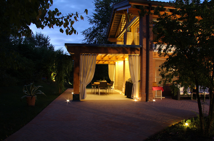 Nowoczesny balkon, taras i weranda od Zago Studio Architects Nowoczesny