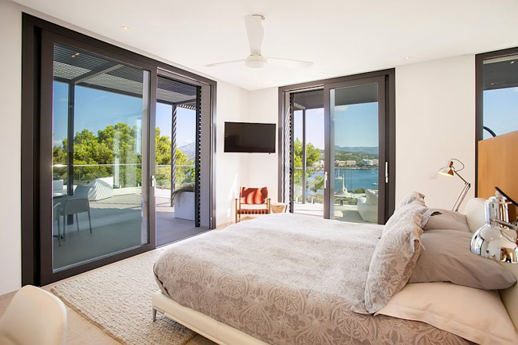 VIVIENDA Dormitorios de estilo minimalista de ABAD Y COTONER, S.L. Minimalista