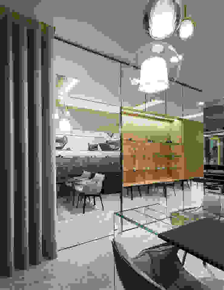 OM_3 Lojas e Espaços comerciais modernos por XYZ Arquitectos Associados Moderno