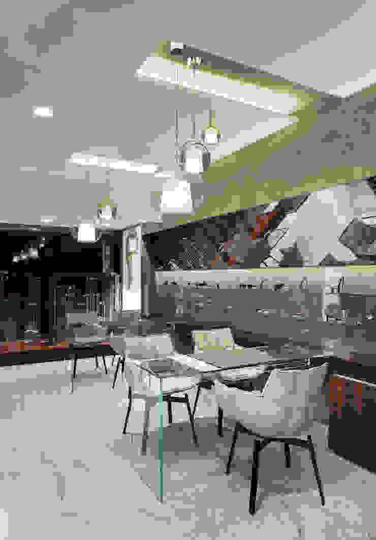 OM_7 Lojas e Espaços comerciais modernos por XYZ Arquitectos Associados Moderno