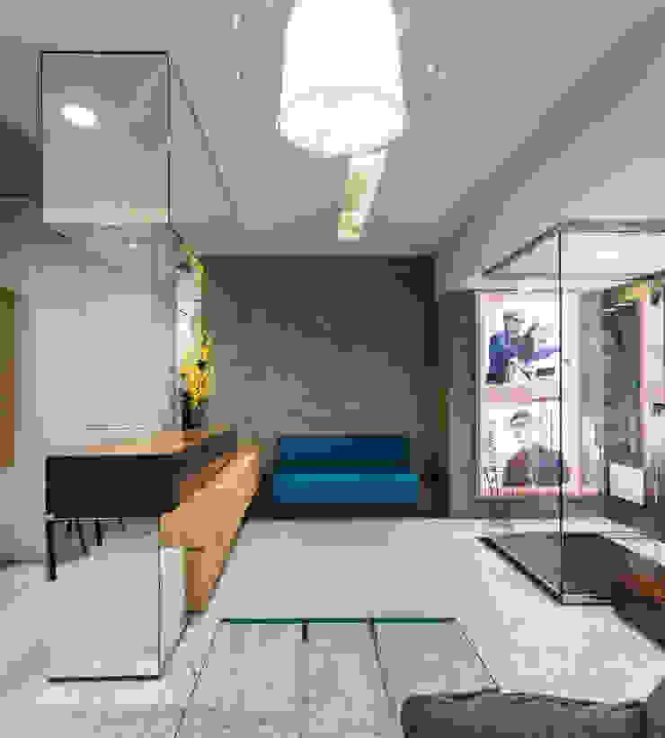 OM_13 Lojas e Espaços comerciais modernos por XYZ Arquitectos Associados Moderno