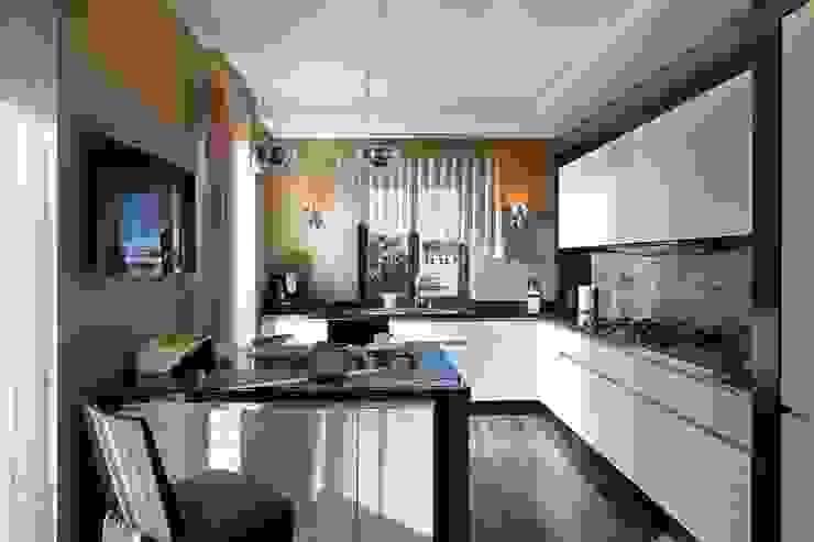 Частные апартаменты 2. Кухни в эклектичном стиле от А3 ARCHITECTURAL BUREAU Эклектичный