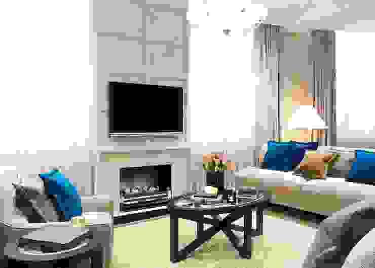 Ruang Keluarga Klasik Oleh Бюро9 - Екатерина Ялалтынова Klasik