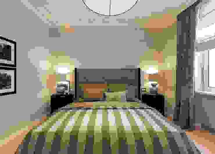 Classic style bedroom by Бюро9 - Екатерина Ялалтынова Classic