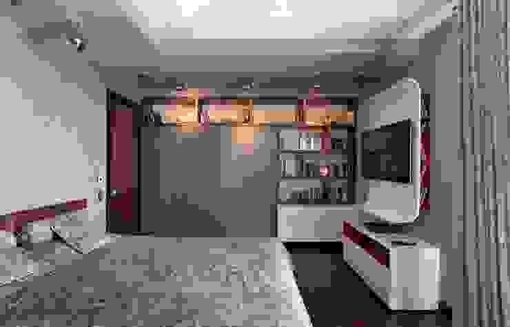 Частные апартаменты 2. Детские комната в эклектичном стиле от А3 ARCHITECTURAL BUREAU Эклектичный