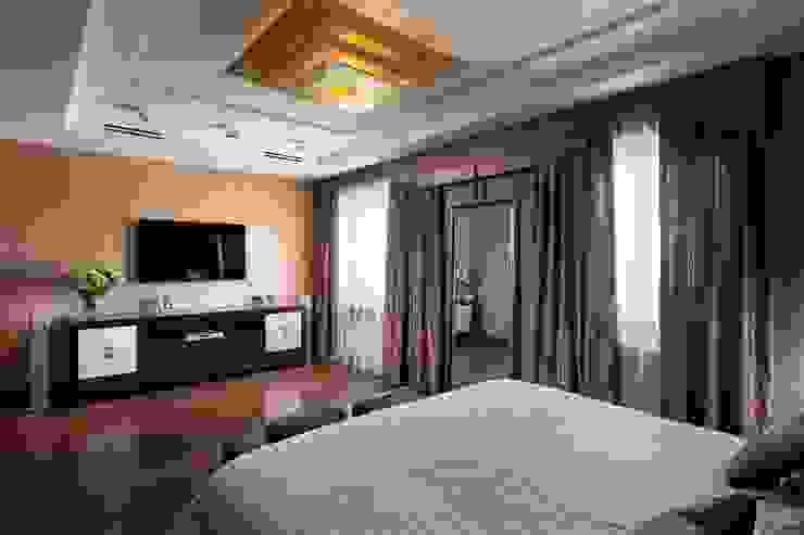 Частные апартаменты 2. Спальня в эклектичном стиле от А3 ARCHITECTURAL BUREAU Эклектичный