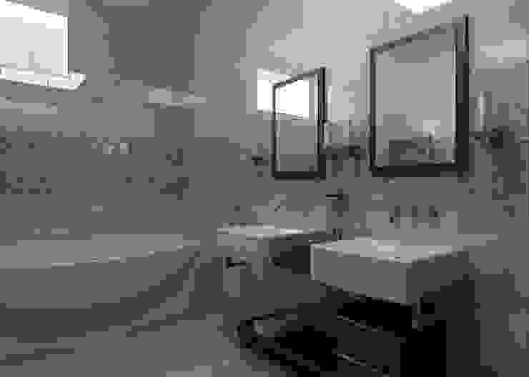 Ванная комната Ванная комната в стиле минимализм от Бюро9 - Екатерина Ялалтынова Минимализм