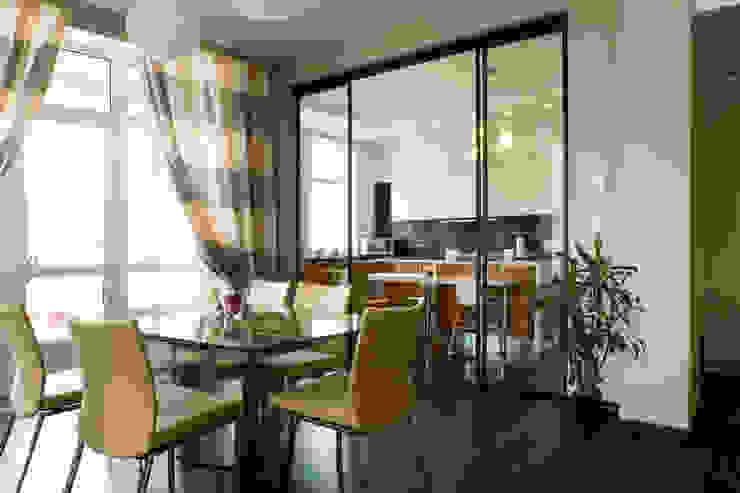 Гостиная Кухня в стиле минимализм от Бюро9 - Екатерина Ялалтынова Минимализм