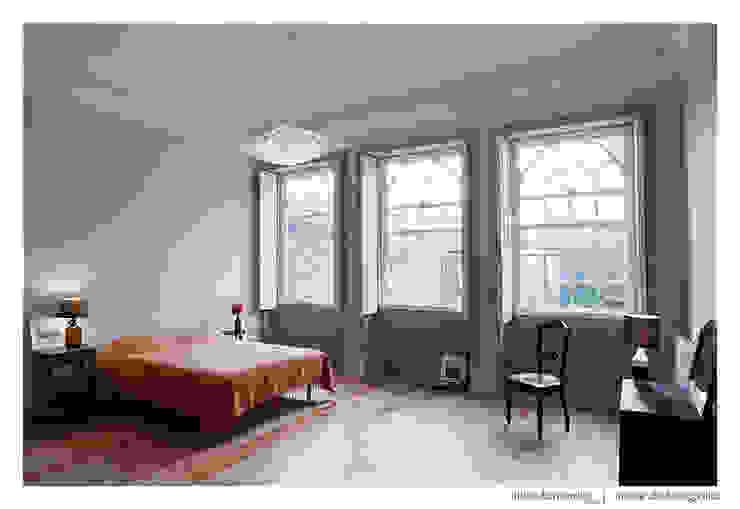 Habitaciones de estilo  por BAAU - Bernardo Amaral Arquitectura+Urbanismo, Moderno