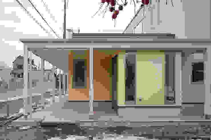 外観 北側エントランス モダンな医療機関 の 吉田設計+アトリエアジュール モダン