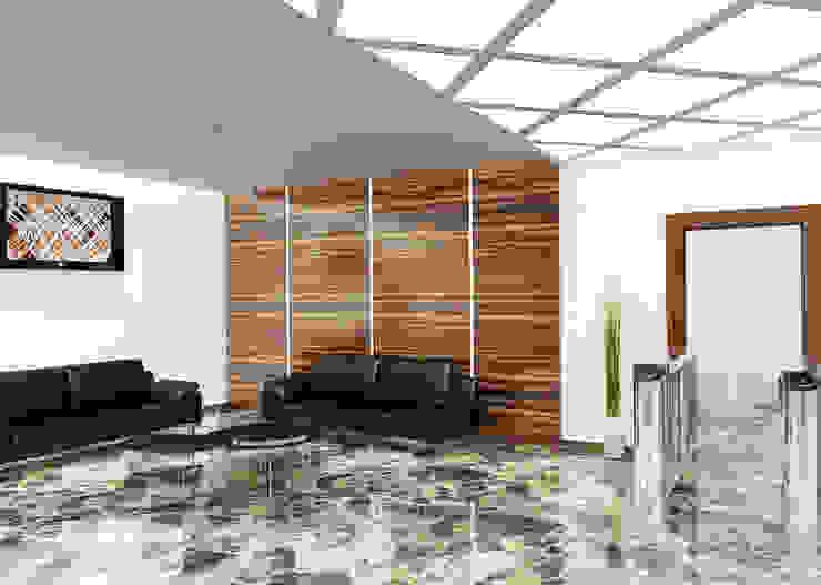 Переговорная Офисные помещения в эклектичном стиле от Бюро9 - Екатерина Ялалтынова Эклектичный