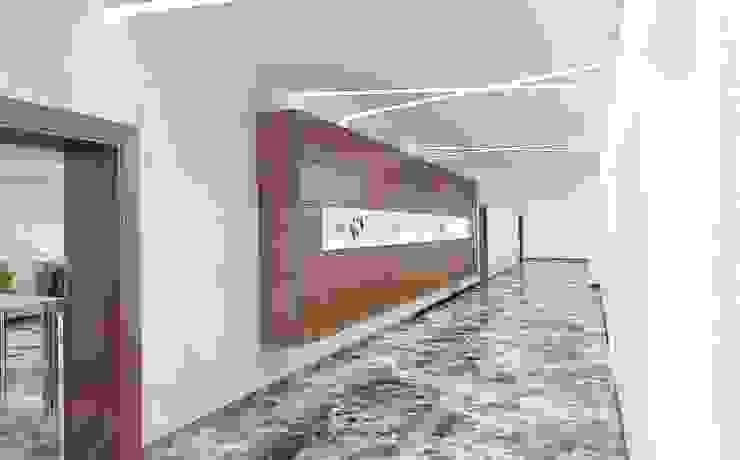 Холл Офисные помещения в эклектичном стиле от Бюро9 - Екатерина Ялалтынова Эклектичный