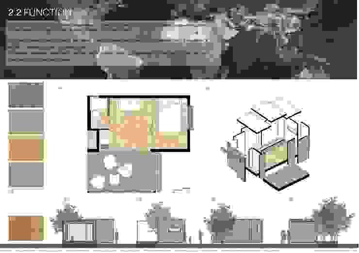 Plano Humano Arquitectos의  주택, 미니멀