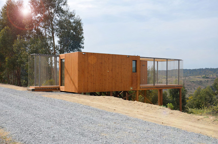 Casas escandinavas por Plano Humano Arquitectos Escandinavo