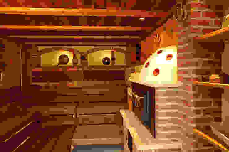 Backstubensauna Erdmann Exklusive Saunen Rustikaler Spa