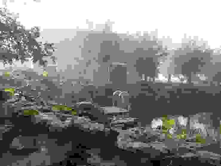 Zwemvijver in landelijke tuin van groenpartners Landelijk