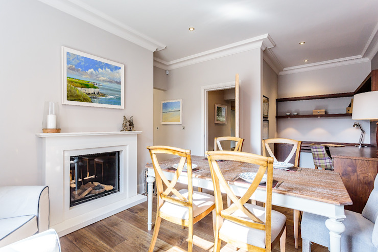 Dining Room, Old Police Station Harrogate - Showhouse Classic style dining room by Rachel McLane Ltd Classic