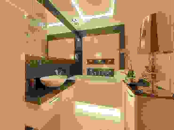 Aranżacja łazienki Nowoczesna łazienka od Intellio designers Nowoczesny
