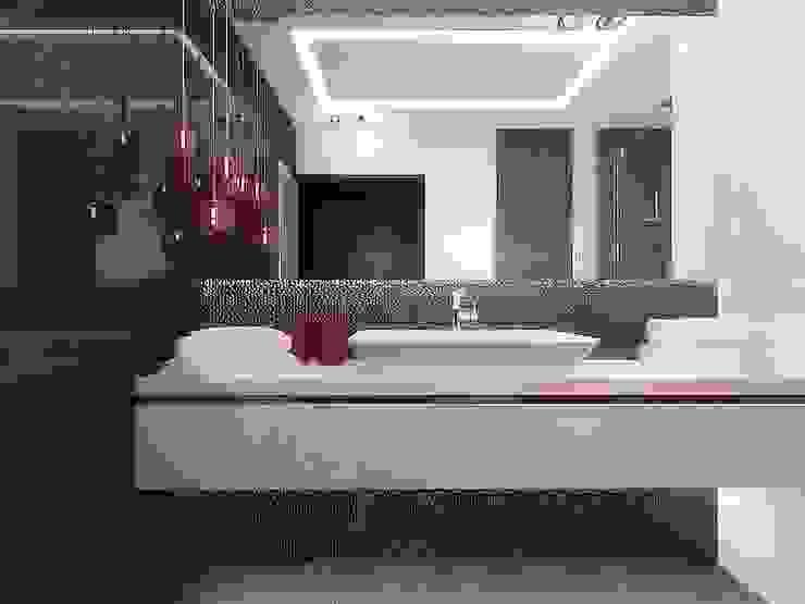 Łazienka nowoczesna od Intellio designers
