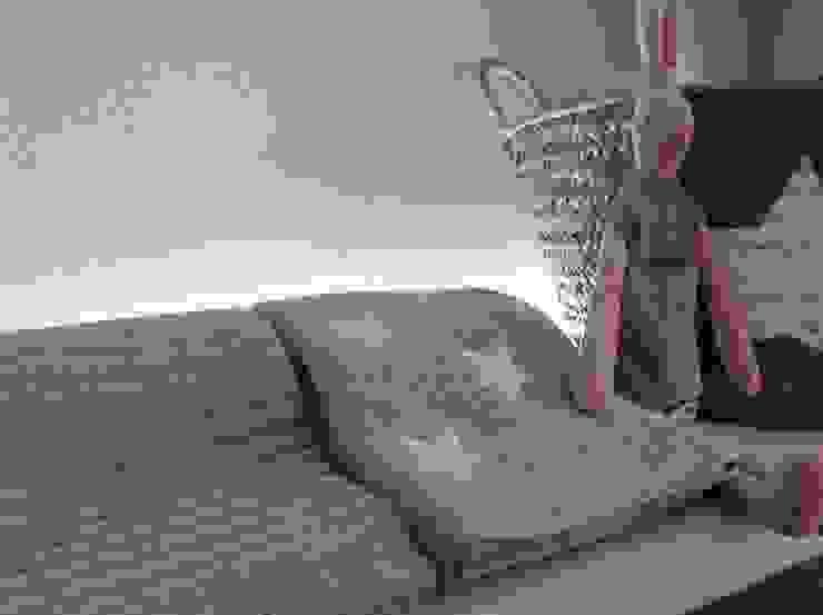 Mantas de lã com estrelas por Pau de Giz, artigos para criança, lda Clássico Lã Laranja