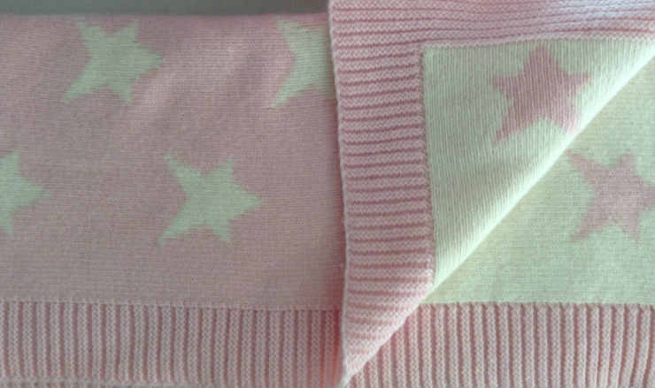 Mantas de lã por Pau de Giz, artigos para criança, lda Clássico Lã Laranja