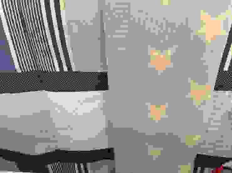 Manta de lã por Pau de Giz, artigos para criança, lda Clássico Lã Laranja