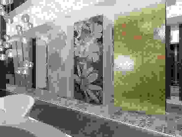 Projekty, koncepcje łazienek od Intellio designers Kraków od Intellio designers
