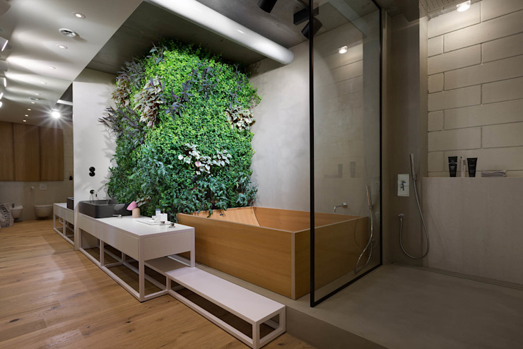 NPL. Penthouse Industrial style bathroom by Olga Akulova DESIGN Industrial