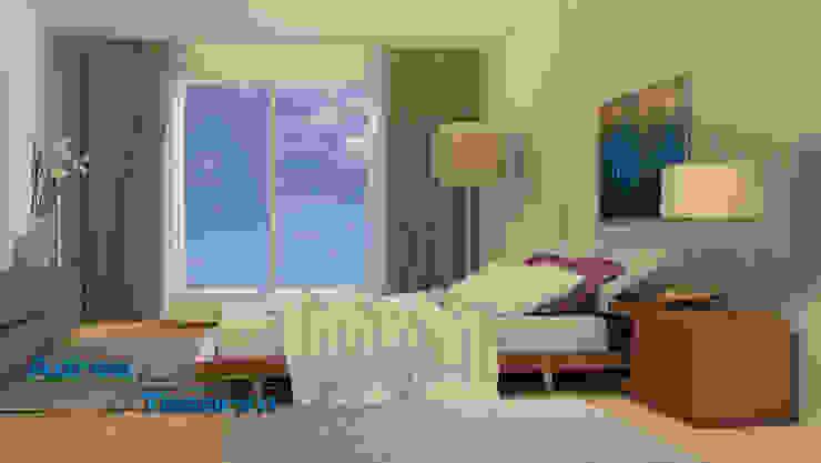 Maziland Eklektik Yatak Odası Adres Tasarım Eklektik