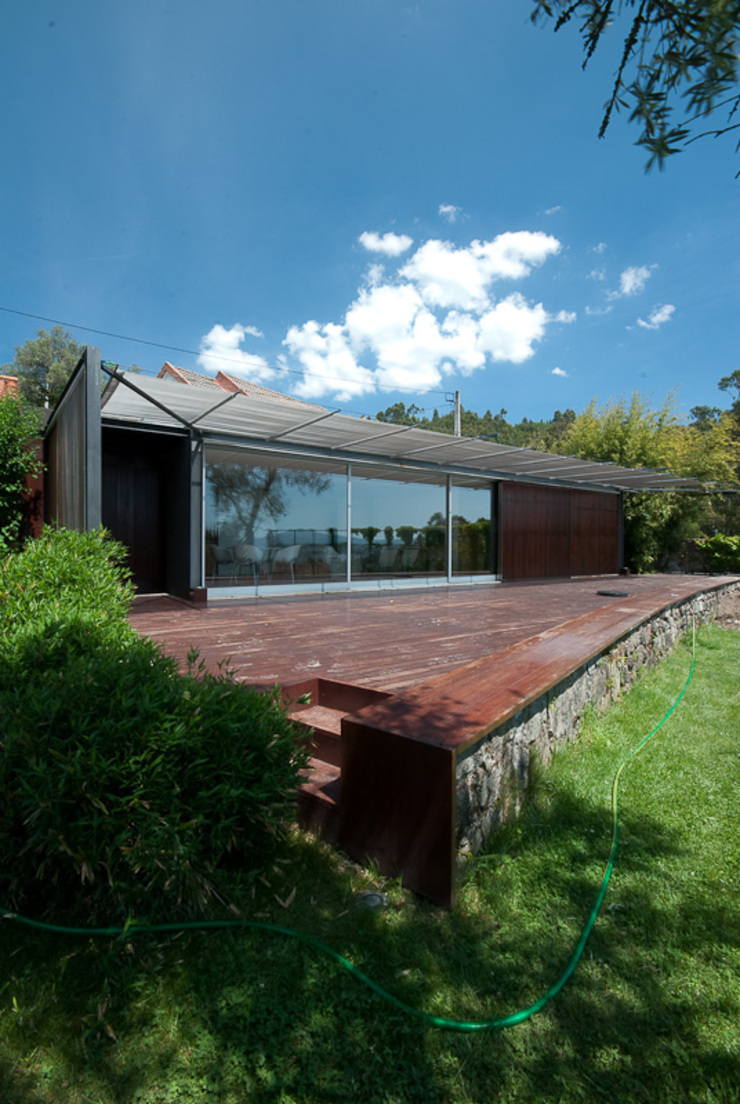 casa em ponte de lima Casas rústicas por armazenar ideias arquitectos Rústico